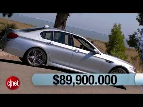 2013 BMW M5.