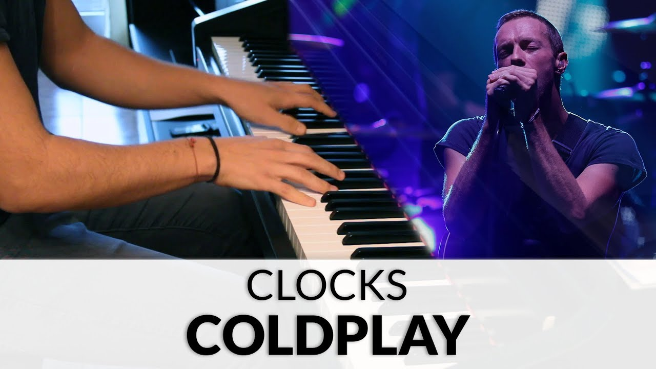 coldplay clocks piano pdf