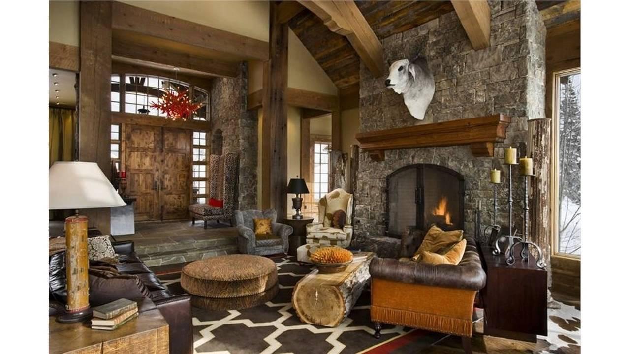 rustikales wohnzimmer ideen youtube. Black Bedroom Furniture Sets. Home Design Ideas