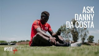 Ask Danny | Happy Birthday Danny da Costa | Eintracht Frankfurt