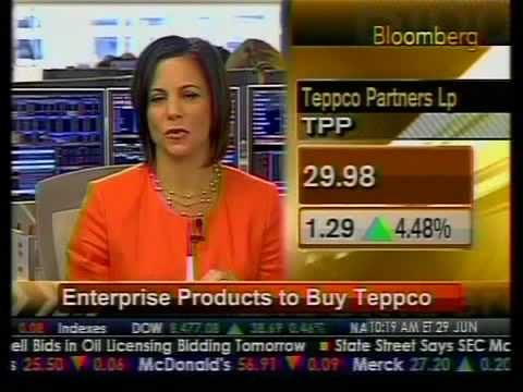 Enterprise Products To Buy Teppco - Bloomberg