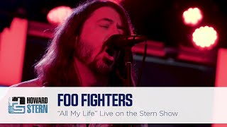 "Foo Fighters ""All My Life"" on the Howard Stern Show"