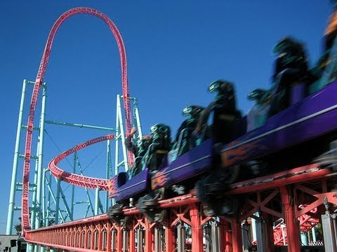 Xcelerator In Hd At Knotts Berry Farm Youtube