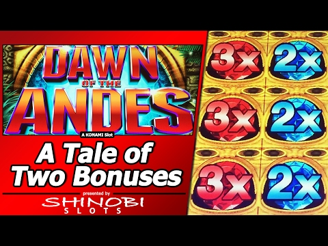The Dawn of the Andes Slot - Tale of Two Free Spins Bonuses - 동영상
