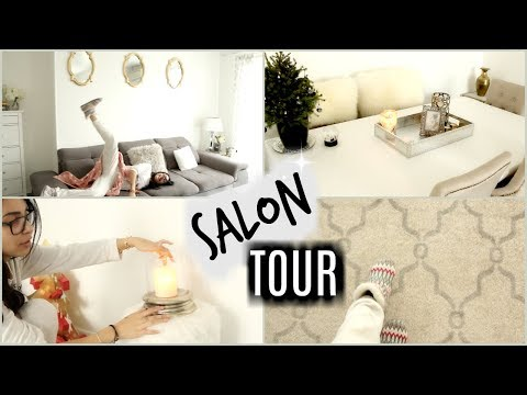 Nouveau Salon Tour Et Idees Deco Decembre 2017 Youtube