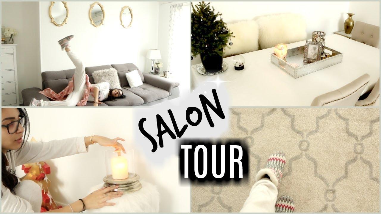 Nouveau Salon Tour Et Idées Déco Décembre 2017 Youtube