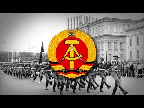 "East Germany/German Democratic Republic (1949-1990) National Anthem ""Auferstanden aus Ruinen"""