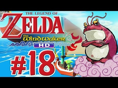 Let's Play Zelda: The Wind Waker HD - Part 18 - Link will Meer