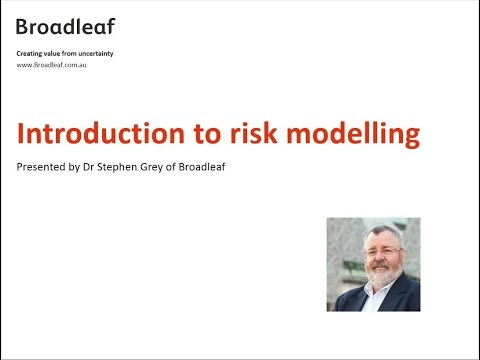 Introduction to cost risk modelling