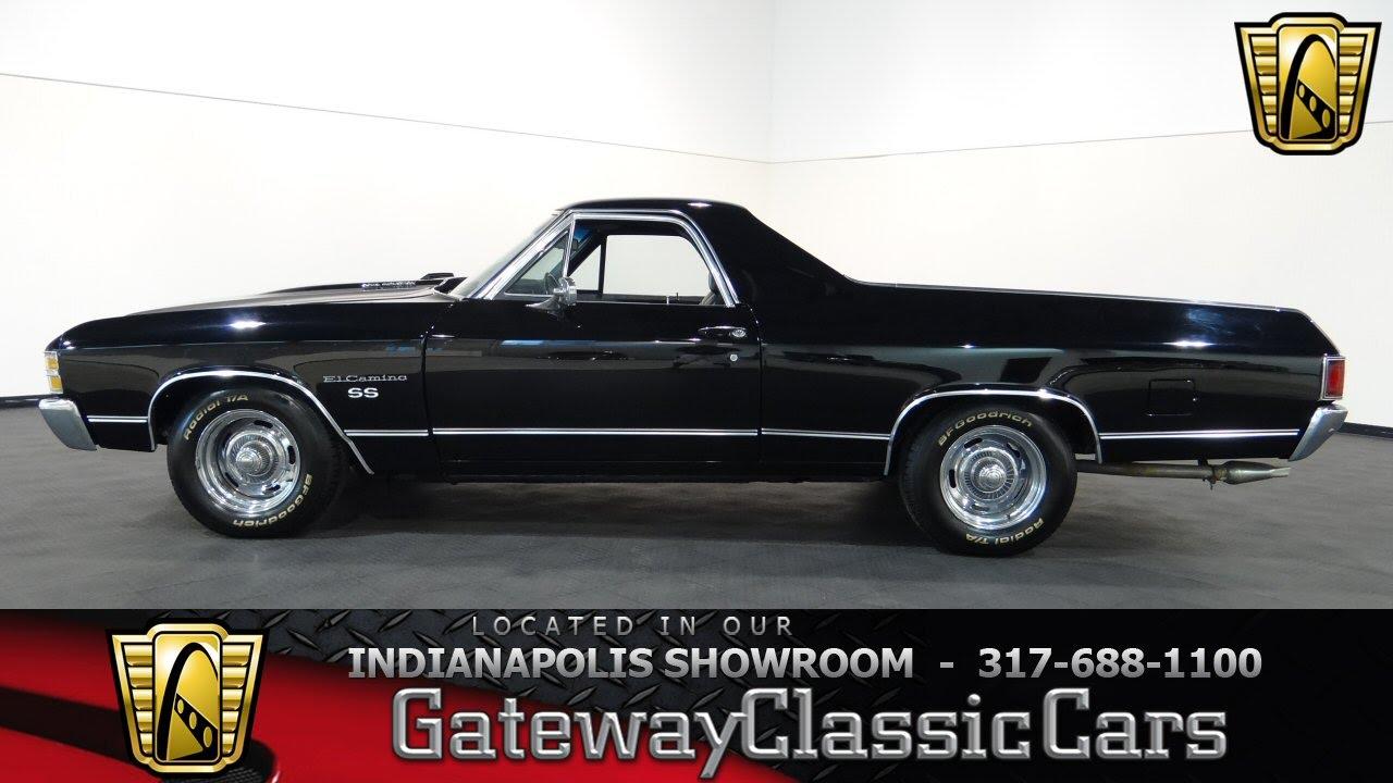 1971 Chevrolet El Camino SS  Gateway Classic Cars Indianapolis