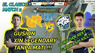 Download EVOS VS RRQ  MATCH 2 | MPL ID S4: GUSION XIN LEGENDARY!!!