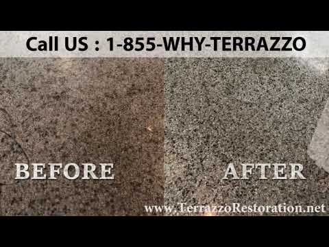 What is The Best way to Polish Terrazzo Floors in Miami?