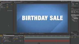 BIRTHDAY SALE (over) on all After Effects presets and what not