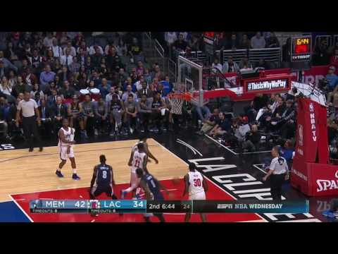 Chandler Parsons vs Los Angeles Clippers 16.11.2016 (4Pts)