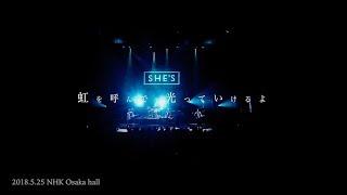 SHE'S - 歓びの陽 ティザー映像