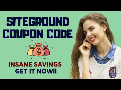 Siteground Coupon Code [2019]: The Best One Yet