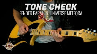 The new Fender Parallel Universe Meteora is one of the most excitin...