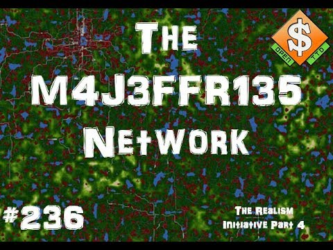 The M4J3FFR135 Network | OpenTTD | #236 | The Realism Initiative Part 4 - Gardcity Great Eastern