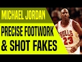 Breakdown: Michael Jordan's Precise Footwork and Shot Fakes | Move-Of-The-Night | Dre Baldwin
