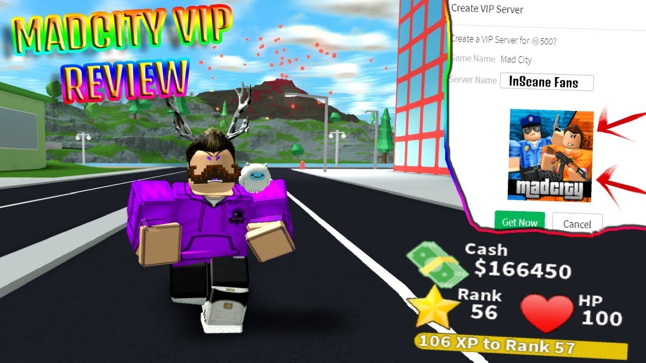 Are Mad City Vip Servers Worth It Vip Review Youtube - roblox mad city vip gamepass roblox codes phone