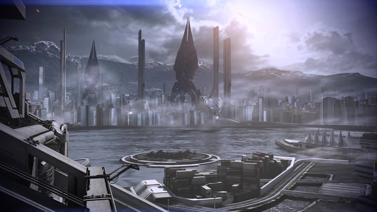 mass effect 3 earth under siege dreamscene video
