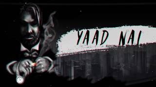 YAAD NAI || CQUENCE || OFFICIAL AUDIO || LATEST HINDI RAP 2019