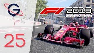F1 2018 : MODE CARRIÈRE FR #25 - Force India en force à Bakou !  (Azerbaïdjan)
