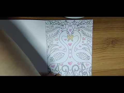 비오는날/컬러링북/힐링/rainy day/coloring book/healing