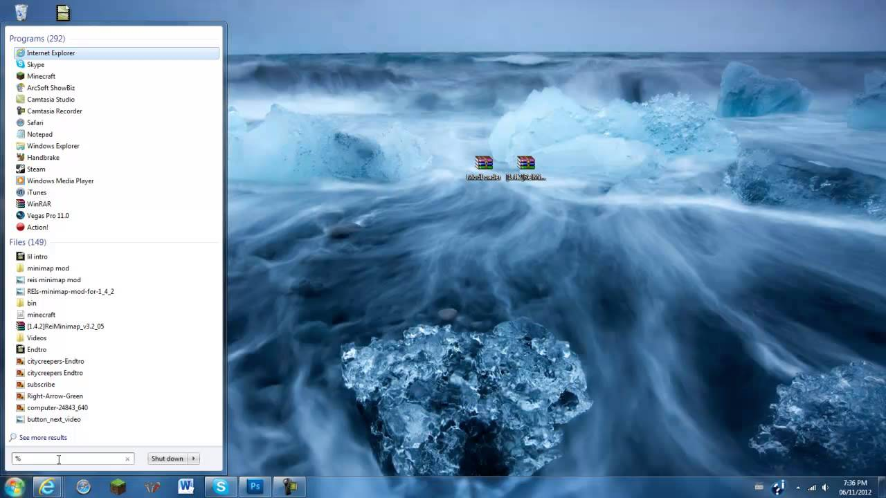 Minecraft How To Install REIs Minimap Mod YouTube - Mini map para minecraft 1 11 2