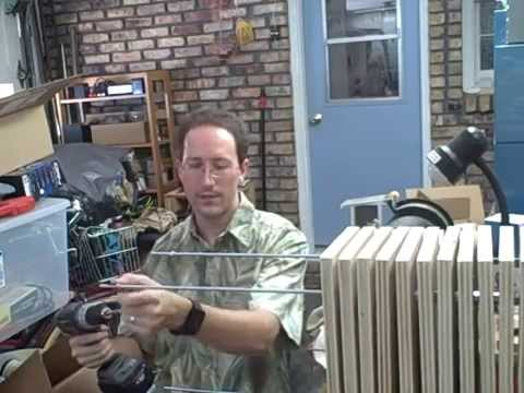 The easy way to thread a nut onto a fixed threaded rod