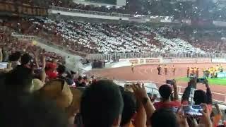 Koreografi glory Dari The Jakmania Di Final Piala Presiden 2018 #persijaday #p