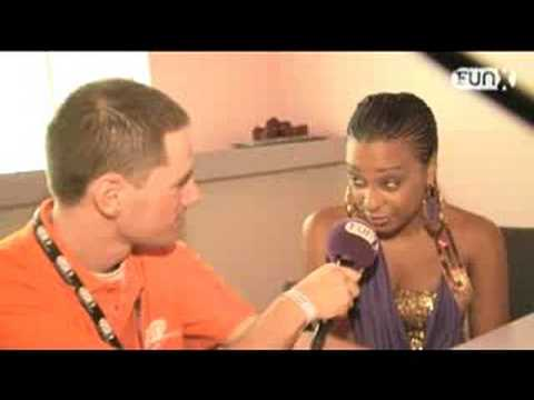Alaine @ Two 7's Splash 2008 (interview)