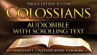Holy Bible Audio: COLOŠSIANS 1 to 4 - Full (Contemporary English) With Text