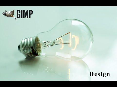 Gimp Tutorial : How To Design From Zero (Flash Bulb)