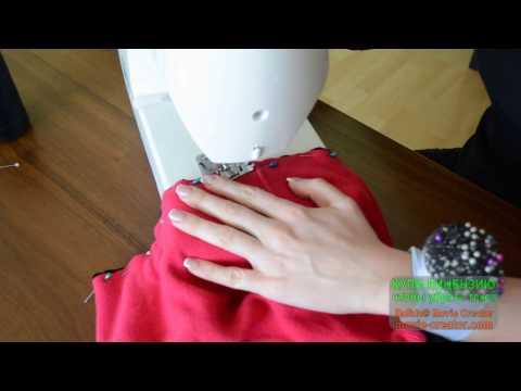 Как красиво удлинить трикотажное платье