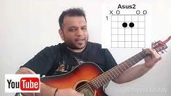 Kk || Yaaron Dosti || Guitar Lesson || Easy Beginner Lesson