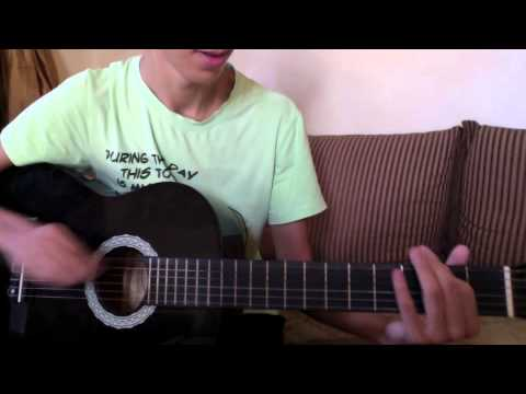 how to play easy songs on the guitar using 1 string youtube. Black Bedroom Furniture Sets. Home Design Ideas