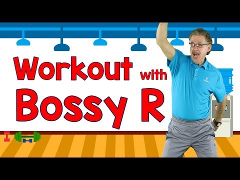 Workout with Bossy R | Controlling R / Controlled R | Exercise & Phonics Song | Jack Hartmann