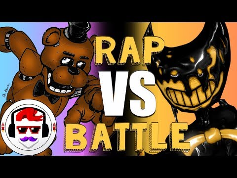 Five Nights at Freddy's VS Bendy and the Ink Machine Rap Battle | Freddy vs Bendy 5 | #RockitGaming