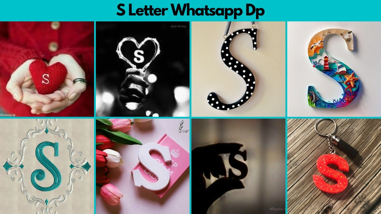 S Letter Whatsapp Dp Images S Name Dp Pics S Name Dpz S Alphabet Profile Pictures Youtube