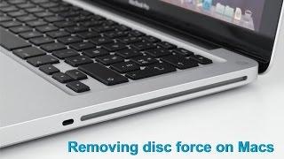Forçar remoção de disco cd dvd em Macbook iMac etc..