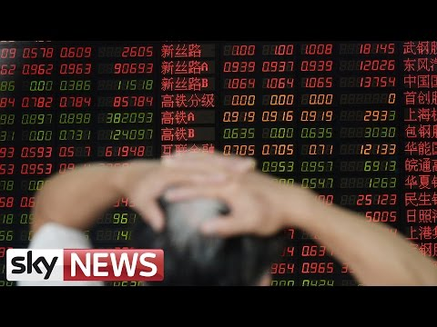 Anxiety Over China's Economic Slowdown Causes Market Slump