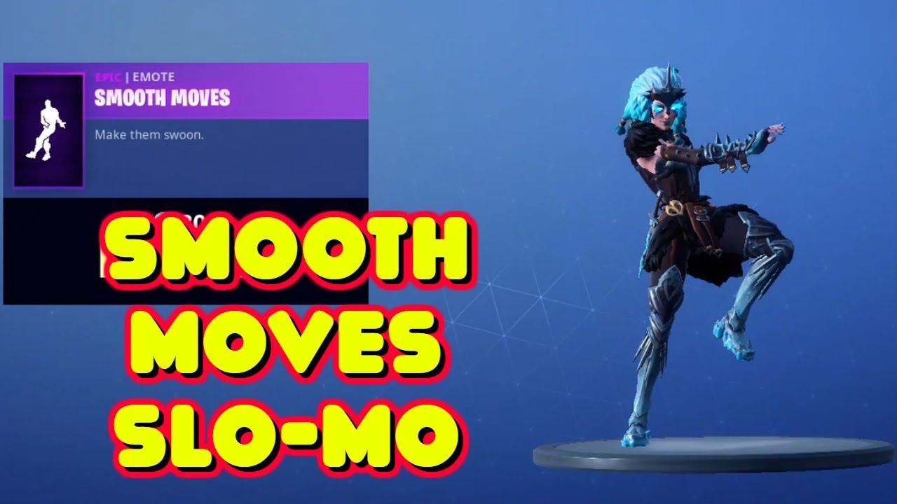 Valkyrie Does New Smooth Moves Dance Emote In Slow Motion Fortnite