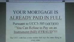(Pt.1) Your Mortgage Is Already Paid In Full ! ! ! (A Revisit)