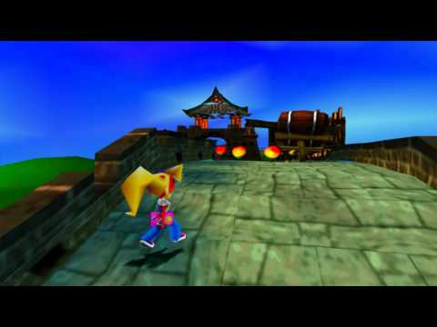 Crash Bandicoot 3 Orient Express without pura + playable crash bandicoot