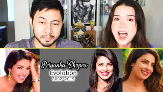 PRIYANKA CHOPRA EVOLUTION (2002 - 2019) | Reaction | Jaby Koay