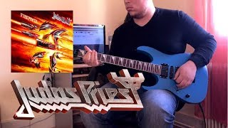 Judas Priest - Never The Heroes (Guiter cover with solo) Firepower Album 2018