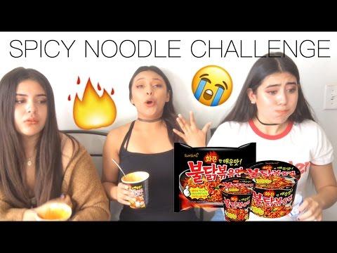 SPICY NOODLE CHALLENGE ! | Jenn Isabel ❥