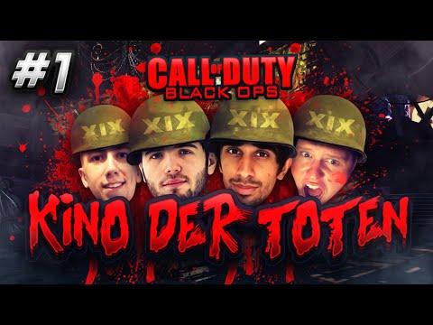 CoD Black Ops ZOMBIES - Kino Der Toten #1 with Vikkstar