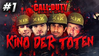 CoD Black Ops ZOMBIES - Kino Der Toten #1 with Vikkstar